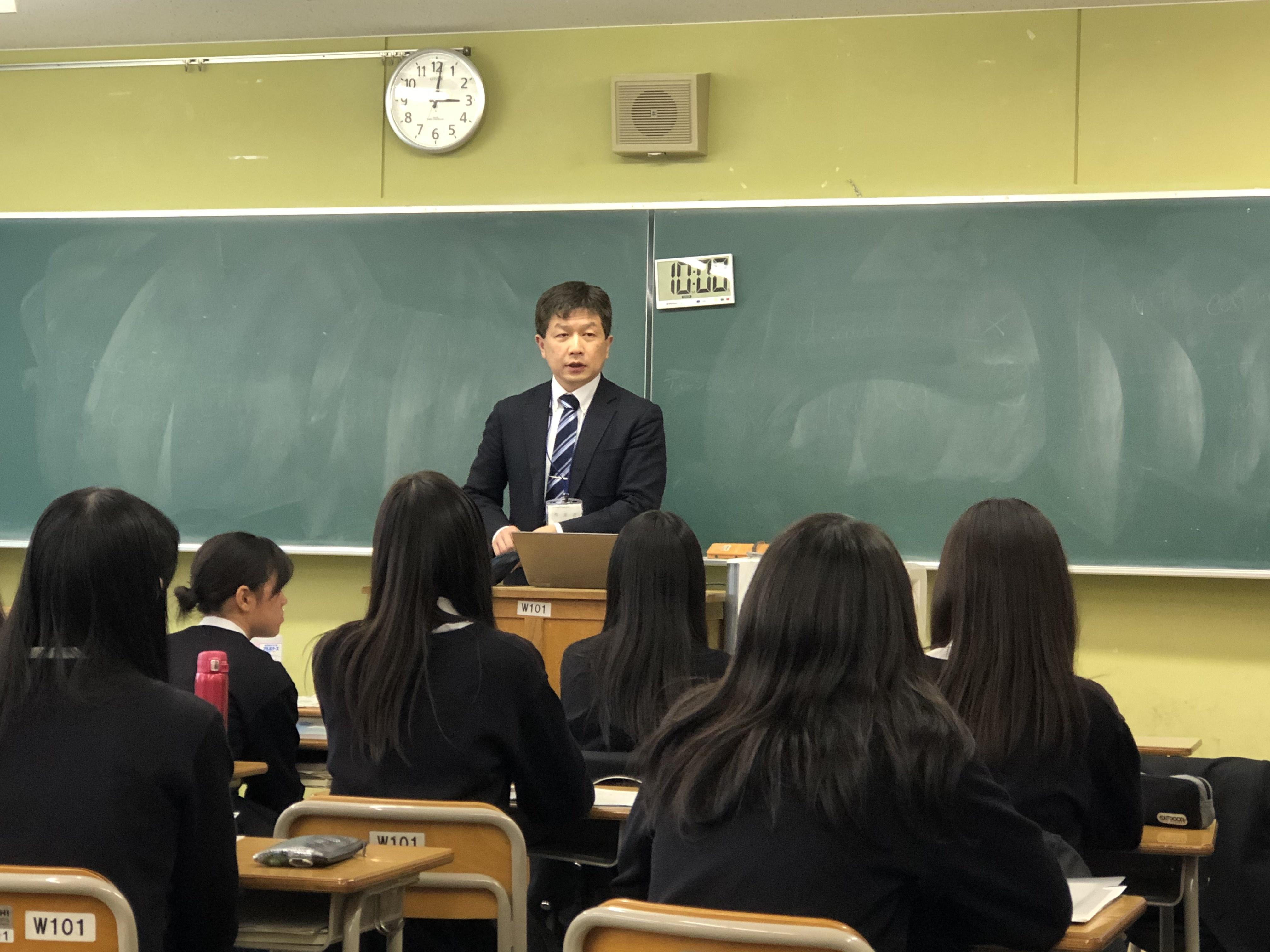 <「探究」学習の仕方(心理学編)>高校で出張授業を行いました。