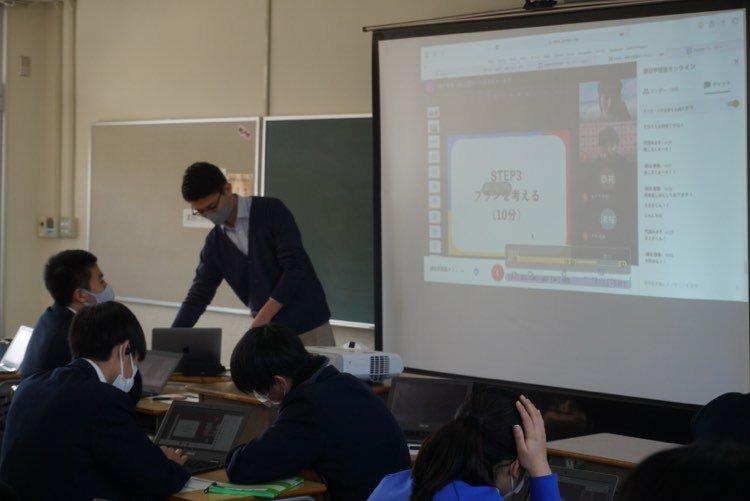 【レポート】広島県立大崎海星高校2年生へ出張授業